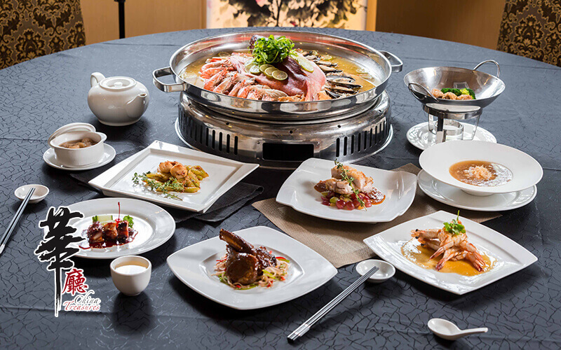 China Treasures: Chinese New Year 2020 Executive Dinner Buffet for 1 Person