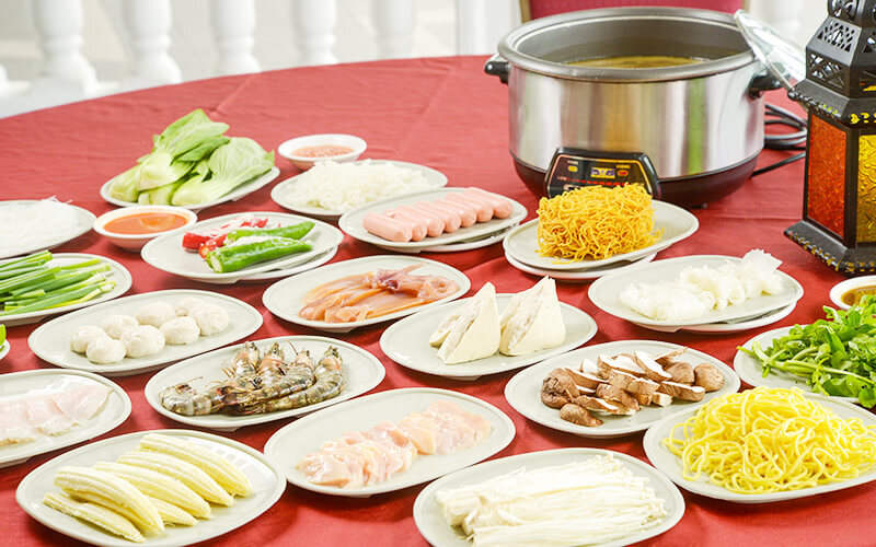 Steamboat Set for 2 Adults