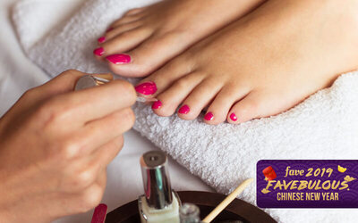 [CNY] Express Gel Pedicure for 1 Person