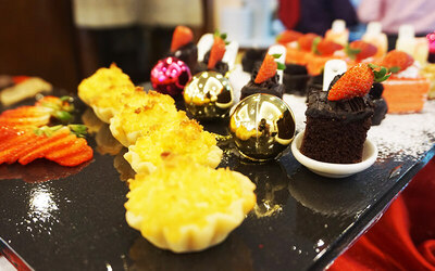 Christmas Special Hi-Tea Buffet for 2 People