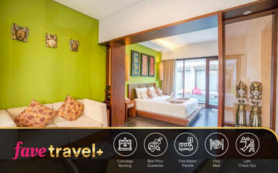 [FaveTravel+] Jimbaran: 4D3N in Lagoon Villa Pool Access + Breakfast + One Way Airport Transfer + Afternoon Tea + Honeymoon Set Up