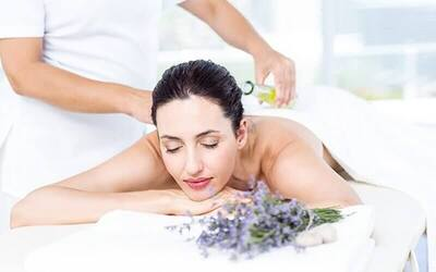 2-Hour Lavender Massage with Full Body Milk Scrub for 2 People