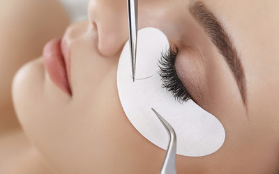 Eyelash Extension with Touch-Up (80 Lashes) for 1 Person