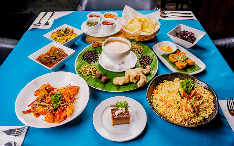 5-Course Sri Lankan Set Meal for 4 People