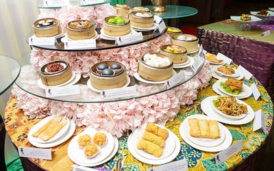 (Sat - Sun) China Treasures: Ramadhan Dim Sum Dinner Buffet for 1 Person