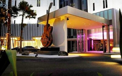 Hard Rock Hotel Penang: 2D1N Stay in Seaview Deluxe with Balcony Room + Fun Filled Wax Museum for 2 People