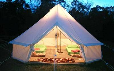 Bentong: 2D1N Stay In Luxury Tent with English Breakfast for 1 Person