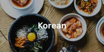 Best Korean Cuisine