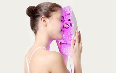 1x Visit PDT Omega Light Facial Acne/Rejuvenation/Hydrating + Peeling + Serum + Face Mask