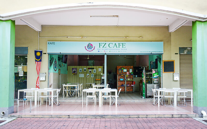 FZ Cafe featured image.