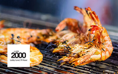 (Fri - Sat) Seafood Extravaganza with Live BBQ Dinner Buffet for 1 Child