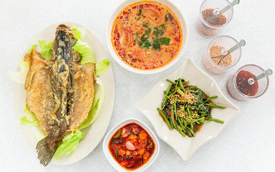 3-Course Thai Dinner Meal for 2 People