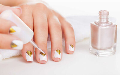 Wedding Nail + Free Disposable Tools