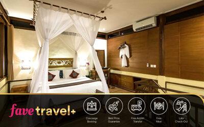 [FAVE Travel+] Seminyak: 4D3N One Bedroom Suite + Breakfast + Tea Time + Return Airport Transfer