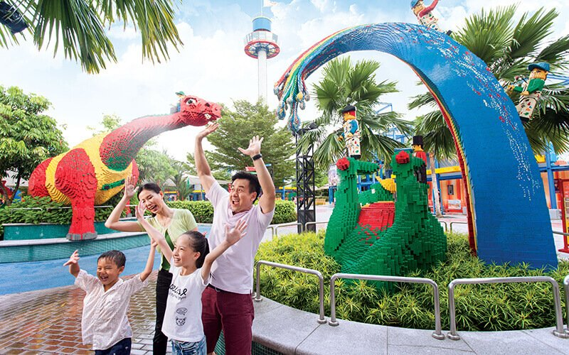 Johor: 1-Day Admission to Legoland Theme Park + Sea Life for 1 Child (3 - 11 years old)