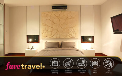 [FAVE Travel+] 5D4N in Three Bed Room Villa With Private Pool + Breakfast + Return Airport Transfer + One Bottle of Wine + 1 x Lunch / Dinner