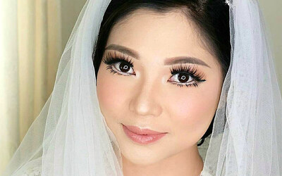 Wedding Package + Hairdo + Free Soft lense (Free Retouch)