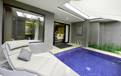Nusa Dua: 4D3N  in Private Pool Suite Room