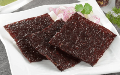 One (1) 400g Pack of Dried Beef Meat with Free Delivery