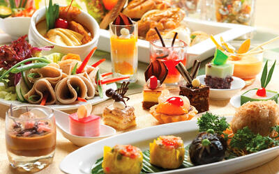 (Sat - Sun) Hi-Tea Buffet for 1 Person