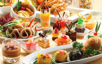 (Sat - Sun) Hi-Tea Buffet for 1 Person