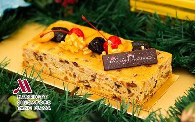 Marriott Tang Plaza: 1kg Fruit and Nut Cake
