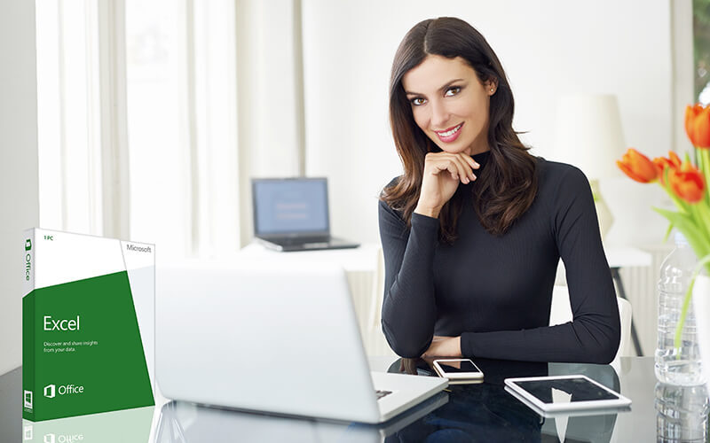 6-Month Accredited Beginner and Advanced Excel Course with International Certificate for 1 Person