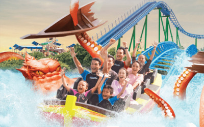 Johor: Admission to Desaru Coast Adventure Park + Return Coach for 1 Adult