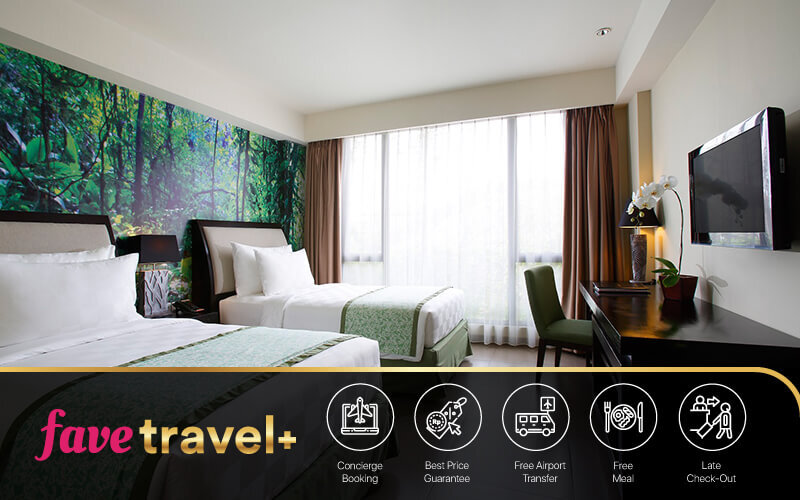 [FAVE Travel+] Kuta: 5D4N in Deluxe Room + Breakfast + 1 Way airport transfer + 1x Afternoon Tea
