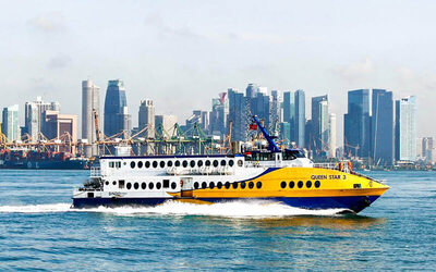 Return Ferry Transfer to Batam with Seaport Taxes for 1 Person