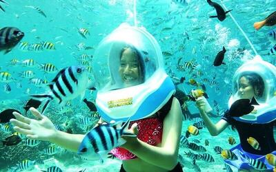 30-Minute Ocean Walker at Tanjung Benoa for 1 Person