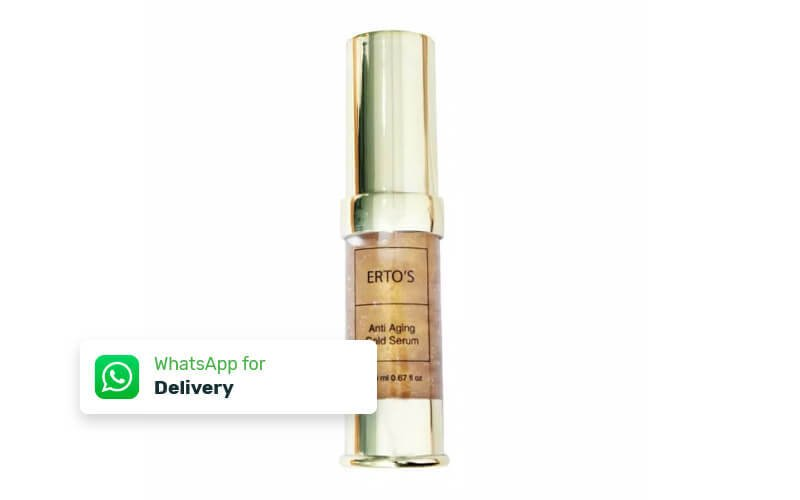 Free Delivery - Erto's Anti Aging Gold Serum