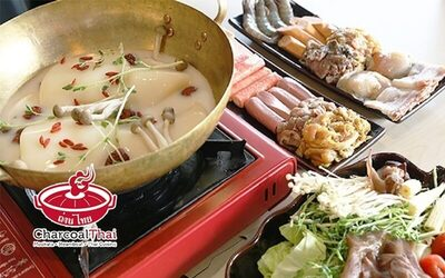 Collagen Thai Hot Pot Dinner Set for 1 Person