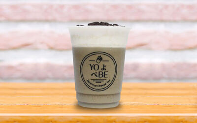 1 Hojicha Oreo Cheese + 1 Black/Jasmine Cheese Tea