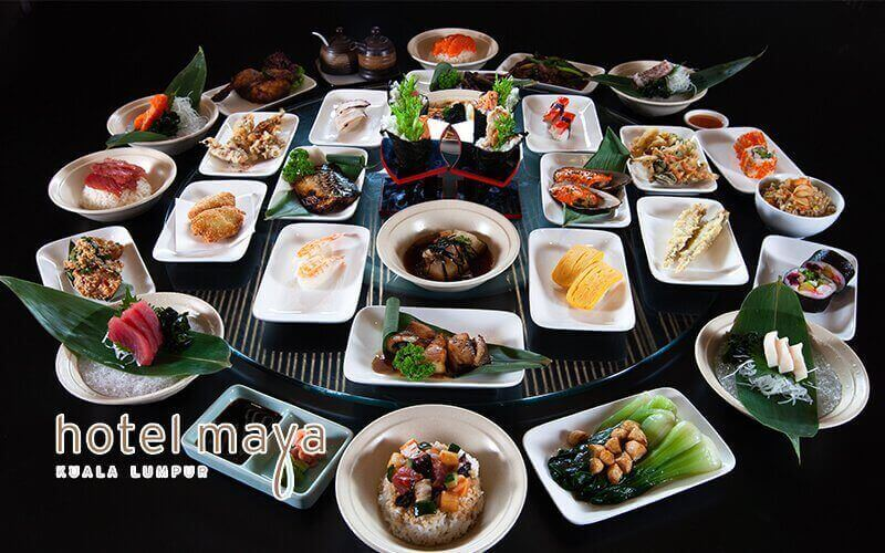 Hotel Maya KL: Saturday Japanese Lunch Buffet Galore for 2 People