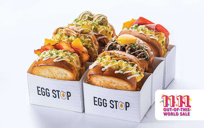 [Ultra 11.11] Buy 1 Free 1 Egg Stop Korean Sandwich with Drink