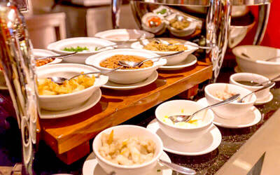 All You Can Eat Lunch Weekdays Indonesia Buffet + Dimsum