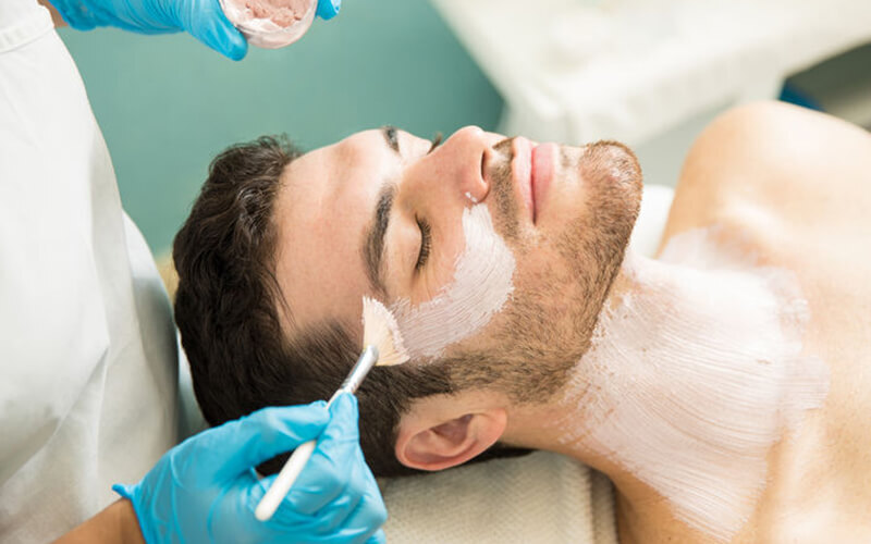 1.5-Hour Men's Sebum Control Facial for 1 Person