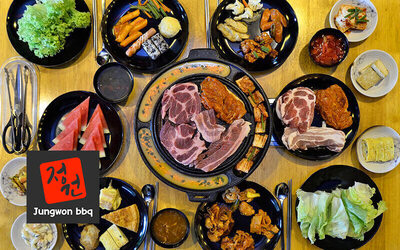 Korean Barbecue Buffet for 1 Adult