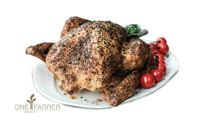 One Farrer Hotel: 6kg Oven Roasted Traditional Turkey with Truffle Essence