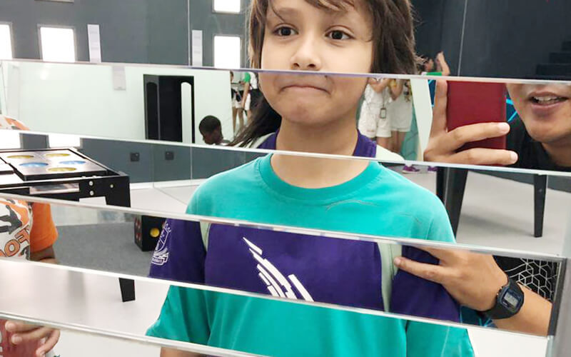 Admission to Museum of Illusions for 1 Child (Non-MyKid / MyKad Holder)