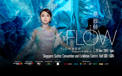 (Nov 29, 2019) Joi Chua's Flow Concert in Singapore 2019 Category 4 Ticket for 1 Person