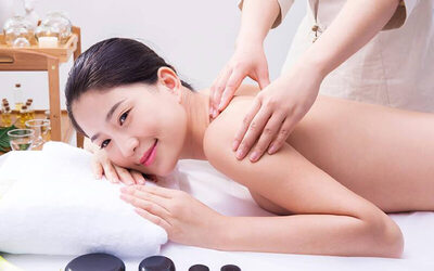 1-Hour Traditional Chinese Medicine Massage with Body Scrub, Sauna, and Dessert for 2 People