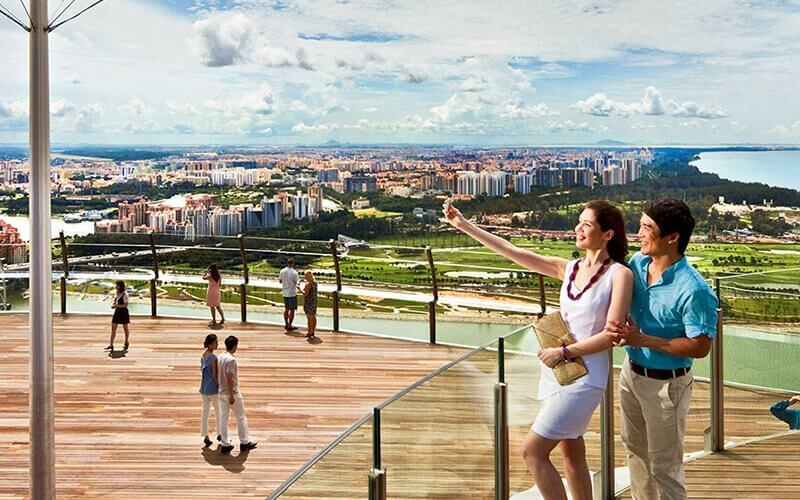 Admission to Marina Bay Sands Skypark Observation Deck for 1 Adult