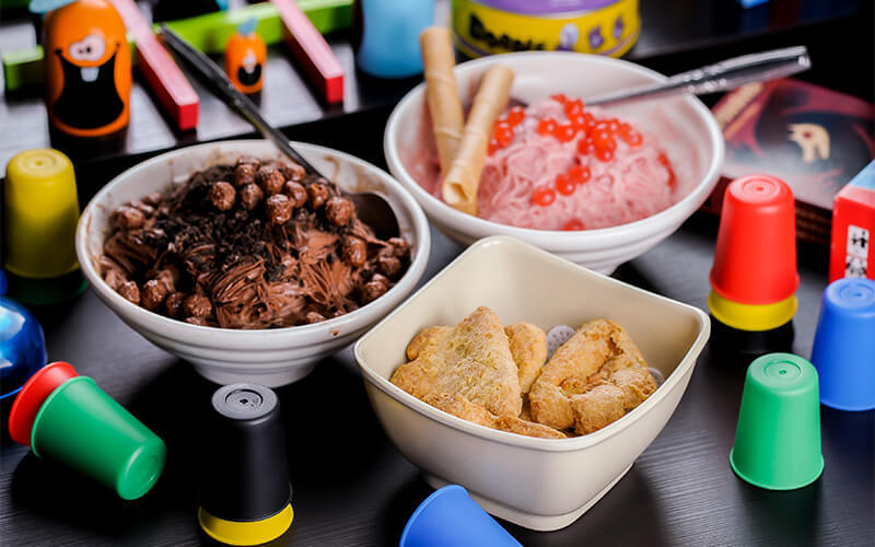 Unlimited Gaming Session for 4 People + Two (2) Bowls of Takaro Signature Snow Ice and One (1) Plate of Nuggets