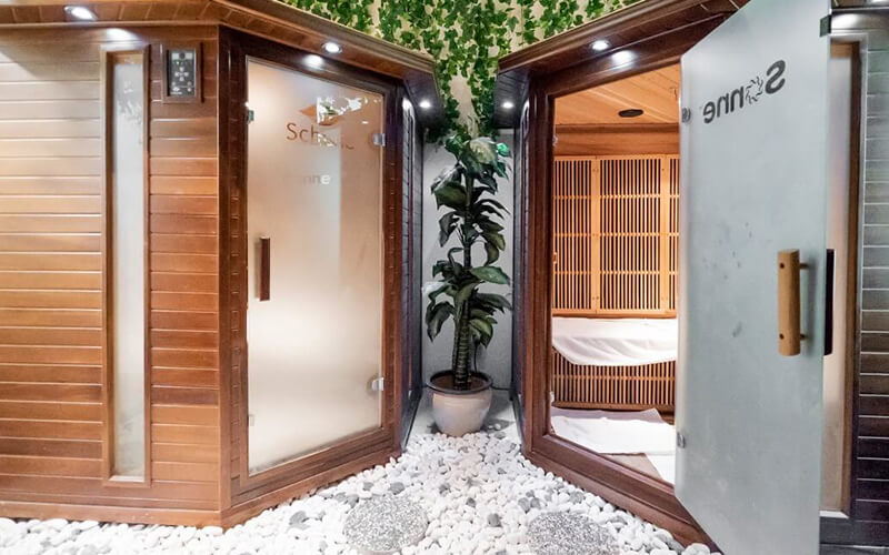 1-Hour Sonne FIR Sauna with Body Composition Analysis for 1 Person
