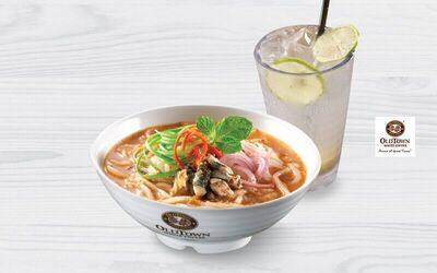 OldTown Assam Laksa + Lime Juice