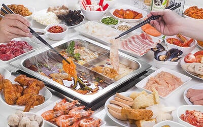 (Sat - Sun & PH) Steamboat Lunch Buffet + Coke + Ice-Cream for 1 Adult