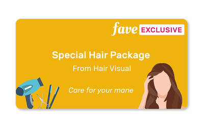 (6-session PACKAGE) Women's Stylist Cut with Wash and Blow for 1 Person