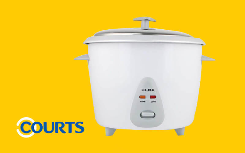 One (1) ELBA 1.8L Rice Cooker